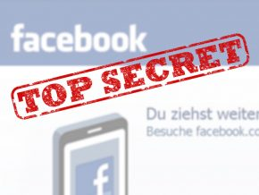 Facebook: Streng geheim! Montage: SR