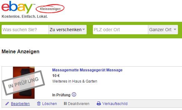 Die vermeintlich gefährliche Massage-Matte: Anzeige muss erst noch geprüft werden! (Screenshot: SR)