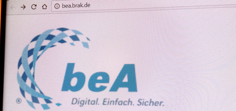 """Nicht wirklich sicher: Das """"besondere elektronische Anwaltspostfach"""" oder kurz: """"beA"""" Foto: SR"""
