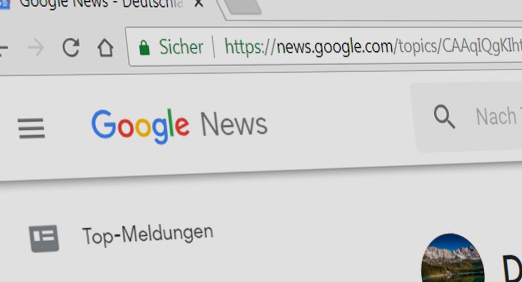 Google News - für viele Presseverleger ein rotes Tuch. Foto: SR